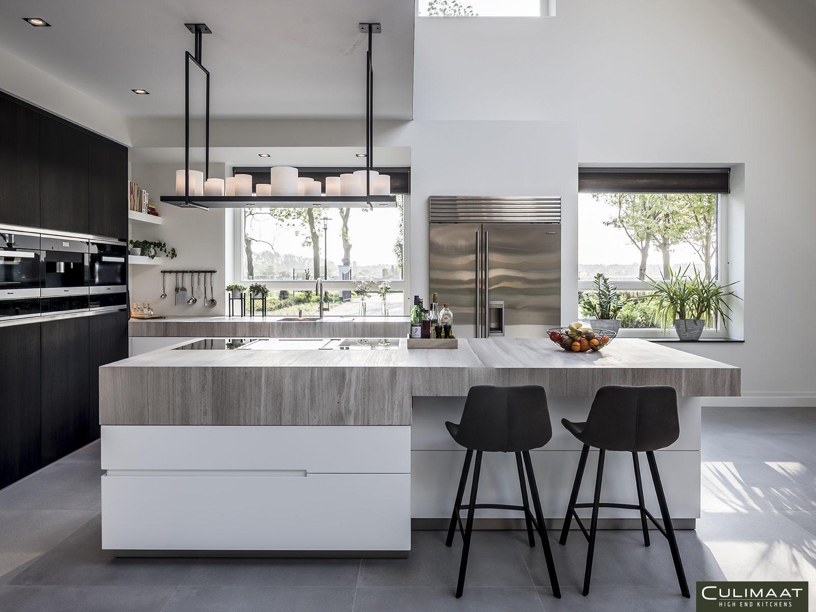 Keuken inspiratie, culimaat, U vorm, keukenopstelling, exclusieve keuken